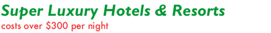 over USD 300 Hotels